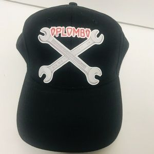 Vintage Plomb Tools Company Hat Two Wrench Brand N